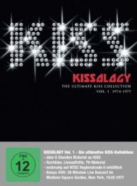 Cover KISS - Kissology - The Ultimate KISS Collection - Vol. 1 1974-1977 [DVD]